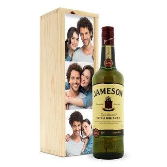 Jameson in personalisierter Kiste