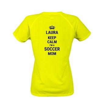 Sportshirt Damen Gelb XXL