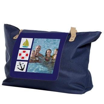 Shoppingbag Blau