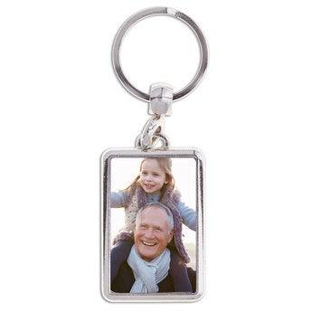 Schlüsselanhänger mit Foto Opa