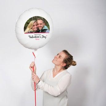 Ballon mit Foto Valentinstag
