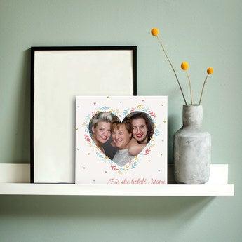 Muttertag Fotofliese Keramik