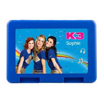 Broodtrommel - Blauw - K3