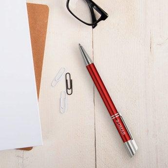Viva Pens Tess Kugelschreiber Rechtshänder (Orange Rot)