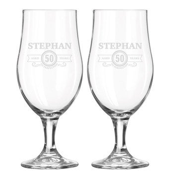 Glass - Beer (set of 2)