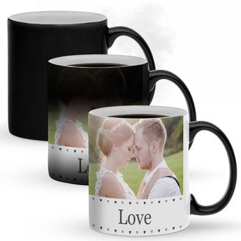 Mug magique Saint Valentin