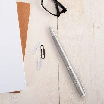 Parker Sonnet Kugelschreiber Rechtshänder (Silberfarben)