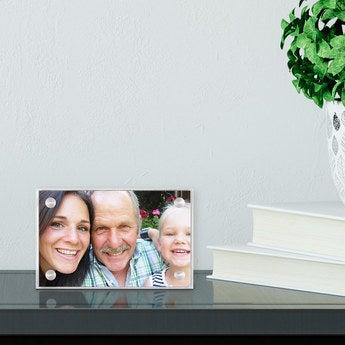 Acryl Bilderrahmen 7x4,5cm