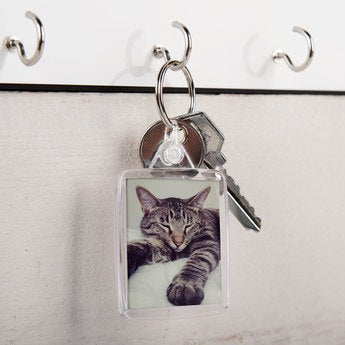 Schlüsselanhänger Transparent Set von 100