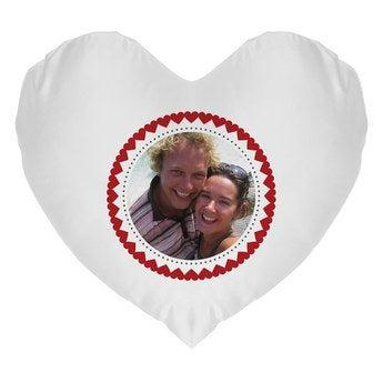 Coussin coeur Saint Valentin