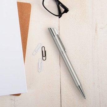 Viva Pens Tess Kugelschreiber Linkshänder (Silberfarben)