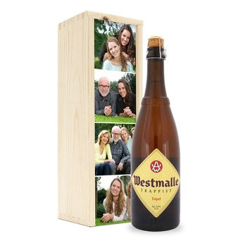 Beer bottle - Westmalle Tripel