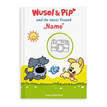 Kinderbuch Wusel Pip 1 Freund XL Softcover