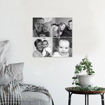 Instagram Collage 15x15 Hochglanz (Set von 4)