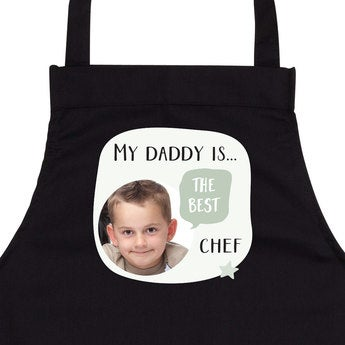 Father's Day apron - Black