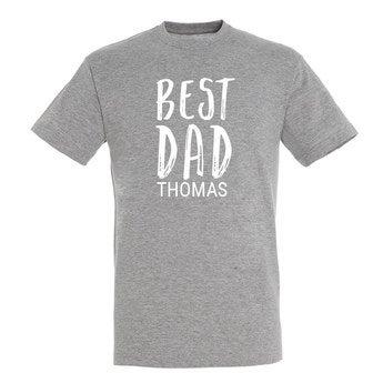 Familienset T Shirt Mann Grau XXL
