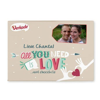 Verkade giftbox - All you need is love - 3 repen