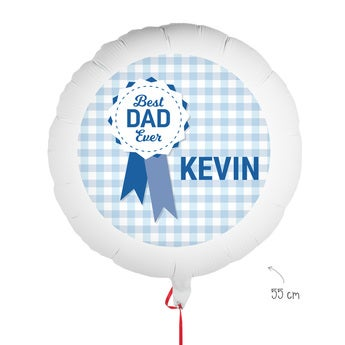 Balloon with photo - Father's Day