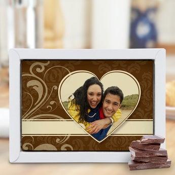 Chocolate Card Large - Milk/White