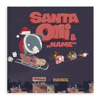 Buch mit Namen Santa Olii XXL Hardcover