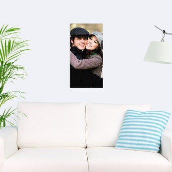 Foto auf Holz Bretter Vertikal (30x60 cm)