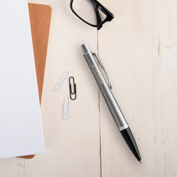Parker Urban Metro Kugelschreiber Linkshänder (Silberfarben)