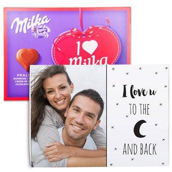 I love Milka Liebe 110 Gramm