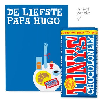Tony's Chocolonely Giftbox Vaderdag (Puur)