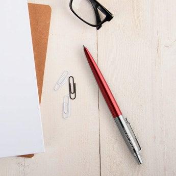 Parker Jotter Kugelschreiber Rechtshänder (Rot)