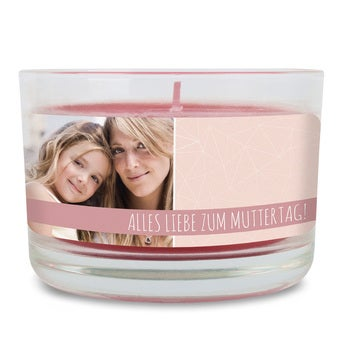 Duftkerze im Glas Muttertag Bratapfel