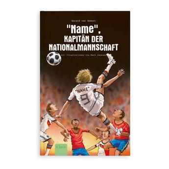 Jugendbuch mit Namen Kapitän der Nationalmannschaft Softcover