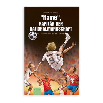 Jugendbuch mit Namen Kapitän der Nationalmannschaft Hardcover