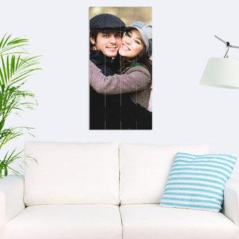 Foto auf Holz Bretter Vertikal (40x80 cm)