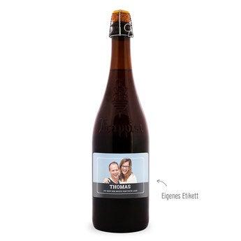 Bier La Trappe Quadrupel Etikett