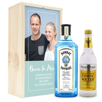 Gin and tonic set - Bombay Saphire - Chromaluxe