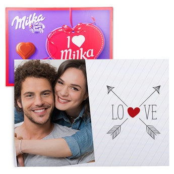 I love Milka Liebe 220 Gramm