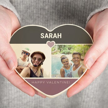 Chocolate Valentine's Day Heart - 200 gr (White)