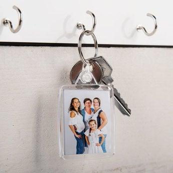 Schlüsselanhänger Transparent Set von 25