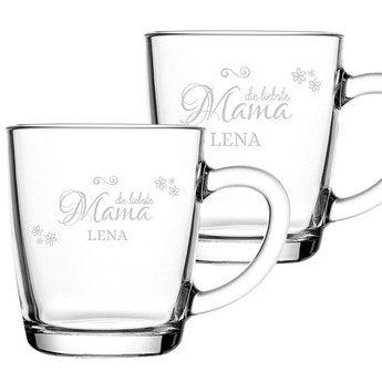 Teeglas Muttertag