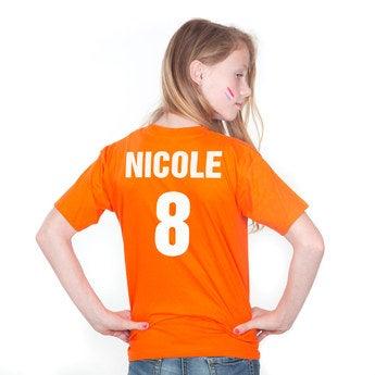 EM T Shirt Kind Niederlande 128