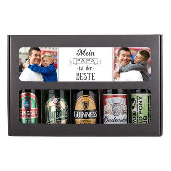 Bier Geschenkset Internationale Biere