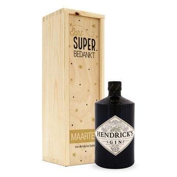 Gin - Hendrick's - in kist