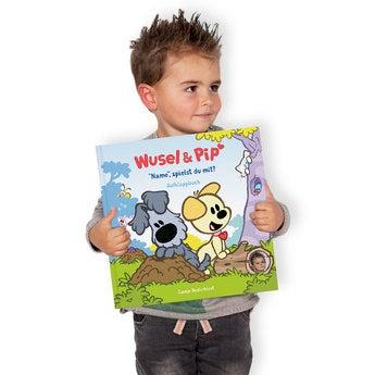 Kinderbuch Wusel Pip Versteckspiel Hardcover Aufklappbuch