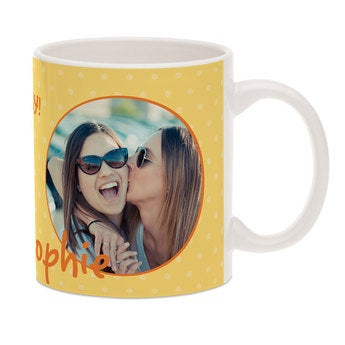 Tasse mit Foto - Die Schlumpfe