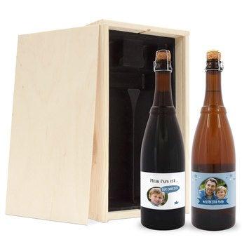 Biergeschenk Vatertag Westmalle