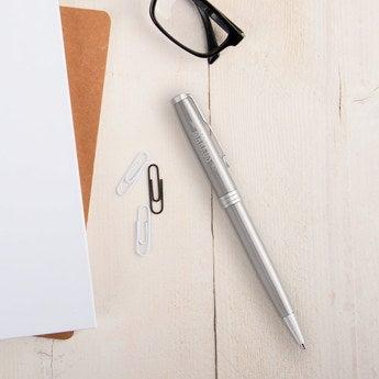 Parker Sonnet Kugelschreiber Linkshänder (Silberfarben)
