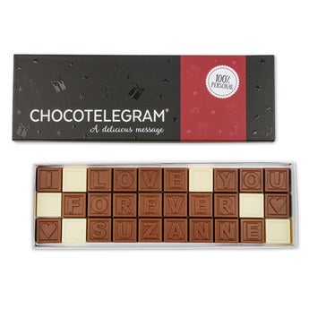 Chocotelegram Luxuriöse Geschenkverpackung 3x10