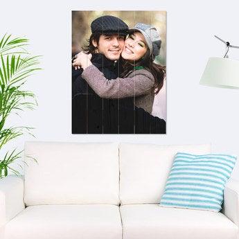 Foto auf Holz Bretter Vertikal (60x80 cm)