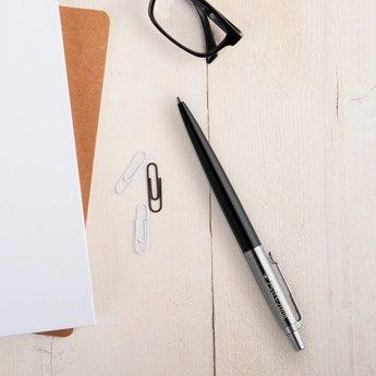 Parker Jotter Kugelschreiber Rechtshänder (Schwarz)