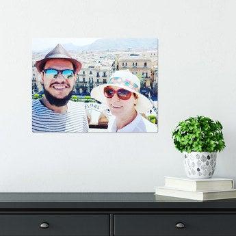 Fototafel ChromaLuxe 40x30 cm gebürstet